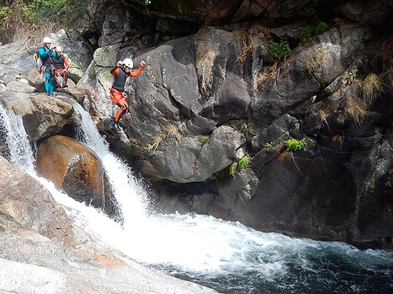 barranco Hoz vera mountain